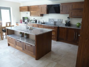 Walnut Shaker Kitchen