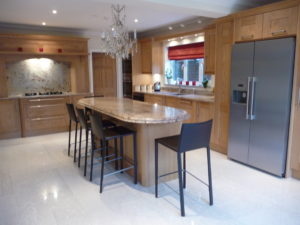 Oak kitchens