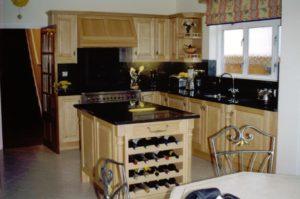 Maple Raised Panel Kitchen