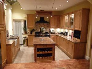 Oak Raised Panel Kitchen