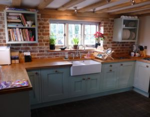 Painted Shaker In-Framed Kitchen